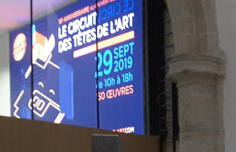 Exposition au Couvent des Jacobins de Rennes, Circuit des Têtes de l'Art – du 28 au 29 septembre 2019