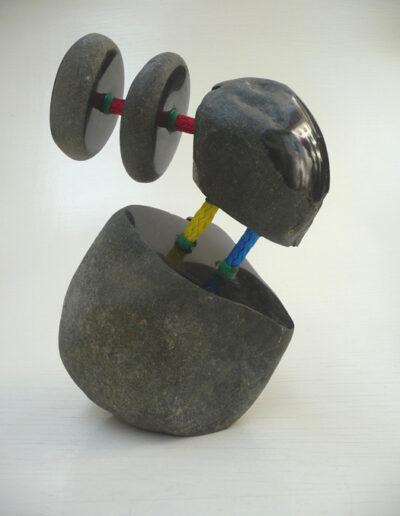 2020-Dualité-Granit,Filin-Ht 32cm x23cm