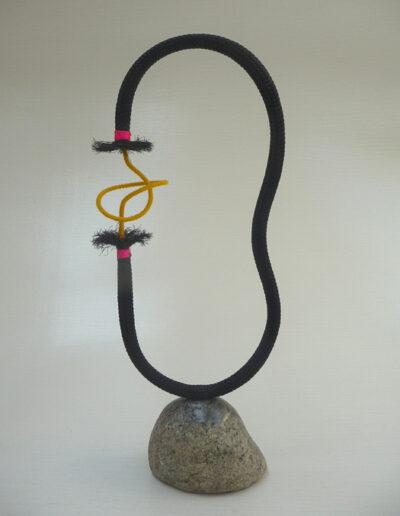 2020-Dualité-Granit,Filin-Ht 62cm x20cm