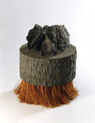 2012-Le poids des choses-Granit, Chanvre-HT 25 cm x 20 cm
