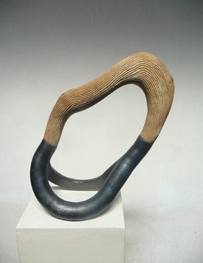 2015-Brise Lame-Acier, Bois-HT 42 cm x 49 cm